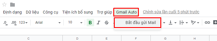 gui email marketing bang google sheet 2